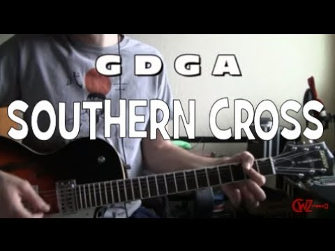 Southern Cross Guitar Tabs by Crosby Stills and Nash chords lesson ...
