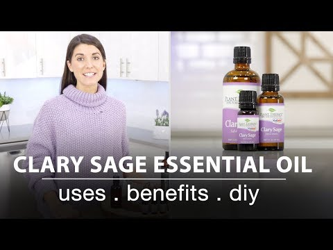 Clary Sage Essential Oil: Best Uses + Quick How To