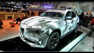 ALFA ROMEO STELVIO QUADRIFOGLIO Q4 THE FASTEST SUV ON NÜRBURGRING WALKAROUND