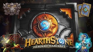 Hearthstone (Gameplay) - Knights of The Frozen Throne - Tempo Mage - NO CARDS IN HAND!
