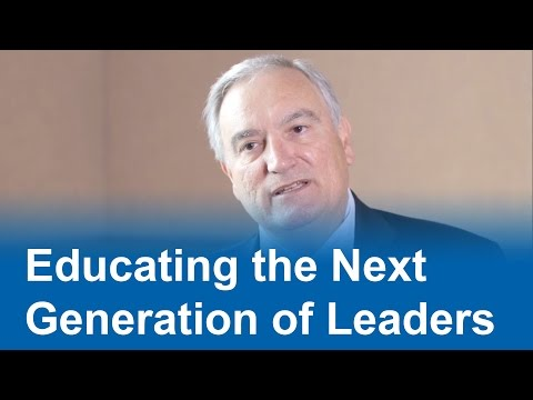 Educating the Next Generation of Leaders