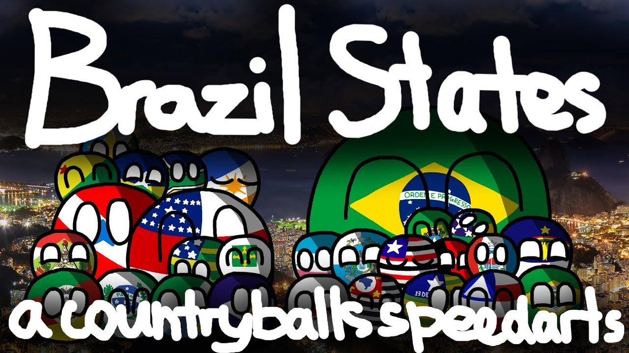 Funny Trending Geeky Brazil Countryball Zazzle Com