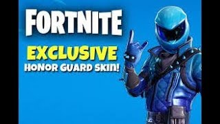 Fortnite free honor skins code in des!and how to get it