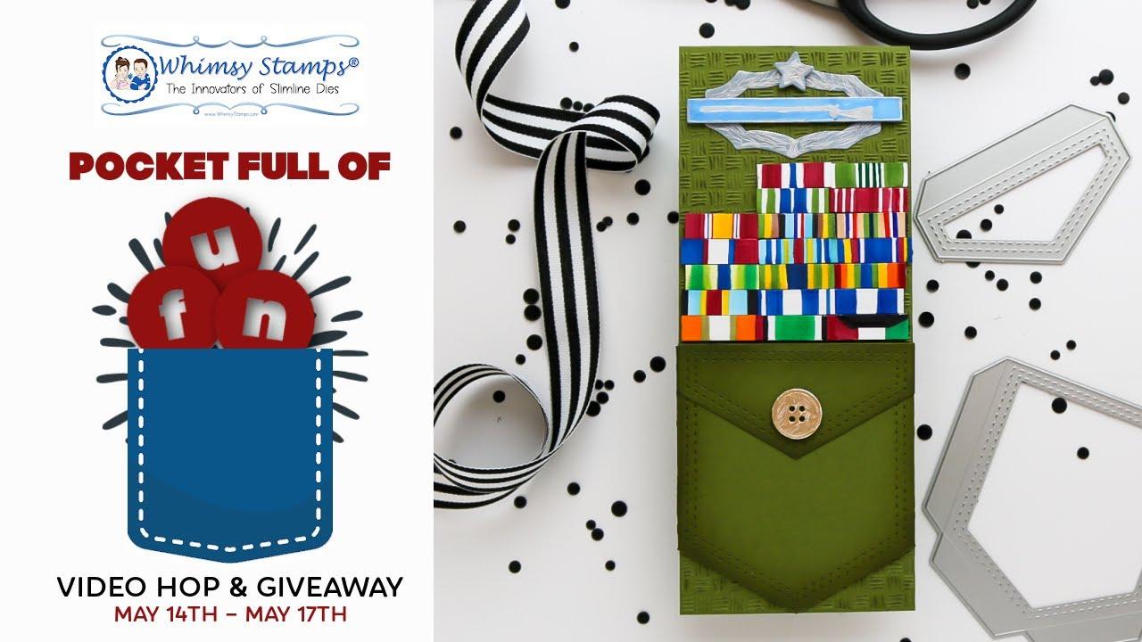 Slimline Military Appreciation Gift Card Holder + Giveaway Hop