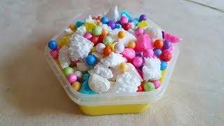 Popcorn slime/ Попкорн слайм/ Мой рецепт