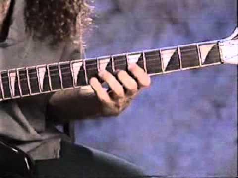 Marty Friedman Guitar Lesson