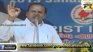 IPC Kumbanad 89th Convention 2013  Tuesday(Day-3) - Worship Songs, Messages