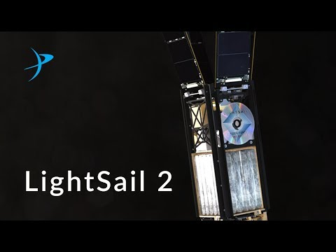 LightSail 2 Animation