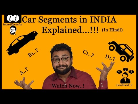 INDIAN Car Segments Explained | Confusion about all segments Cleared | must watch | HINDI