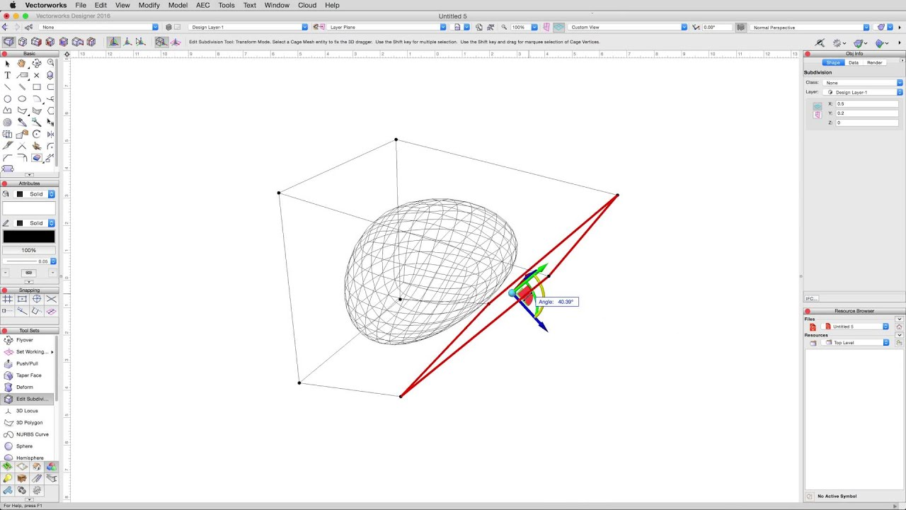 Adding Solid on Imported Geometry - Solids Modeling