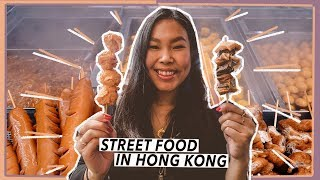 Eating A LOT of Street Food in Hong Kong | Travel Vlog