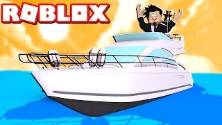 AVENTURAS NO BARCO GIGANTE | Roblox - Boys and Girls Boat Roleplay