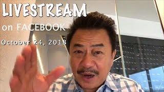 LIVESTREAM trên FACEBOOK với MC VIỆT THẢO- CBL(747)- Oct 24, 2018