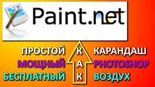 Как редактировать картинки и фото. Программа paint.net.