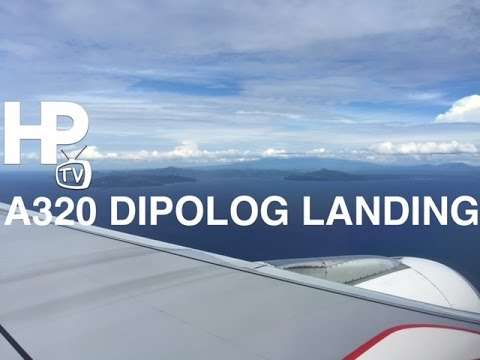 A320 Dipolog Airport Landing Zamboanga Del Norte Philippines by HourPhilippines.com