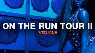 Drunk In Love/Diva/Clique: Beyoncé & Jay-Z (On The Run Tour II Visuals)