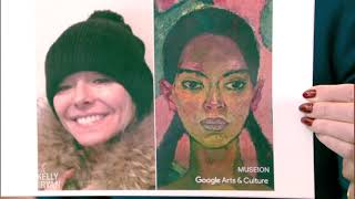 Kelly and Ryan Try Google's Arts & Culture Face Match App