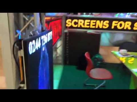 Appa led display screens exhibits Led display in Ghana at A