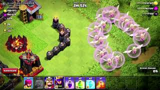 Clash Of Clans   IMMORTAL QUEEN TROLL UNSTOPPABLE HERO ATTACK 2018 !!!
