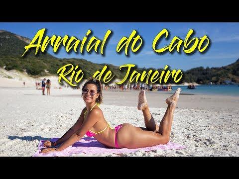 EL PARAÍSO BRASILEÑO 🇧🇷   Arraial do Cabo, Rio de Janeiro 🏖