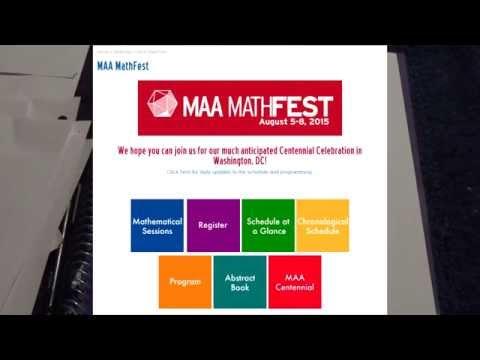 MAA MathFest - Recap