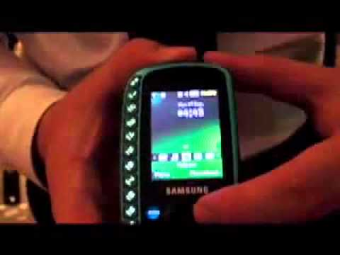 Samsung B3310 hands on demonstration
