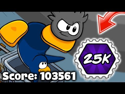 Earning The Unbeatable Stamp! | Club Penguin Rewritten