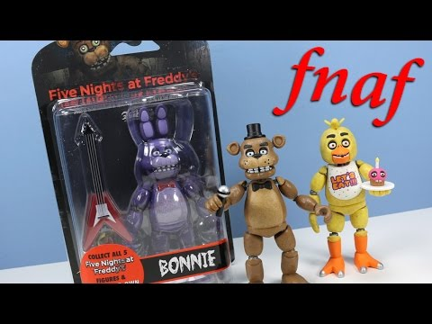 "Thumbnail: Five Nights at Freddy's Funko 5"" Action Figure Collection Opening Review"