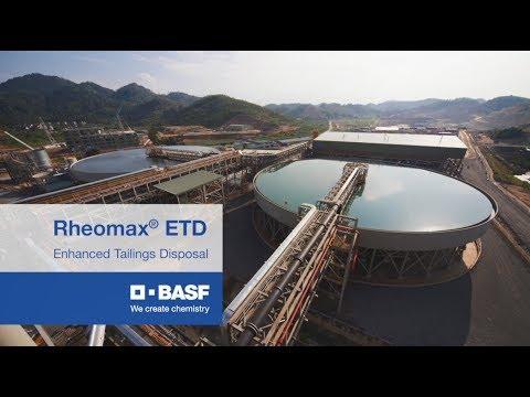 BASF Mining Solutions Rheomax® ETD