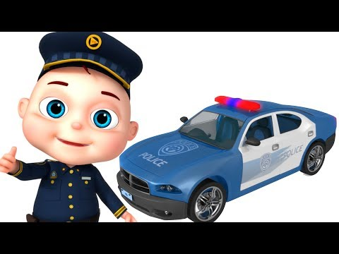 Police Car Assembly | Vehicle Construction For Kids | Videos For Toddlers | Videogyan Fun Videos