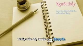 NGƯỜI THẦY - Cẩm Ly - [ Video sub ]