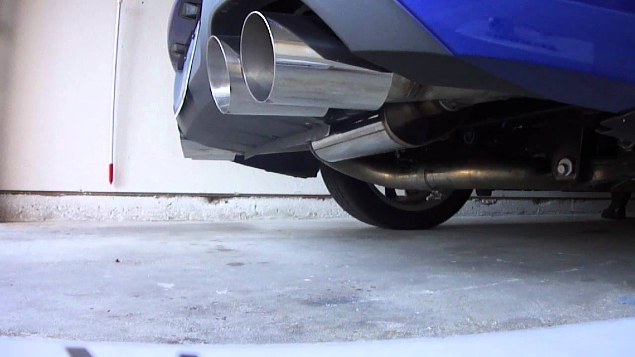 Exterior sound of magnaflow catback on 2013 2 0t genesis coupe