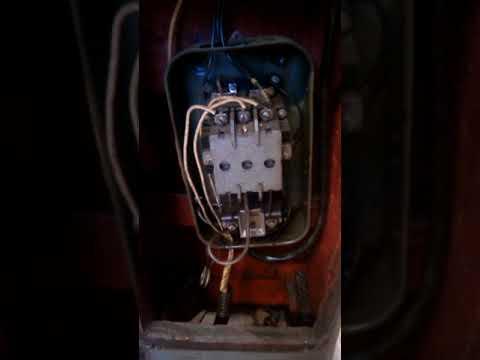 Сложная электрика сверлильного станка 2А125