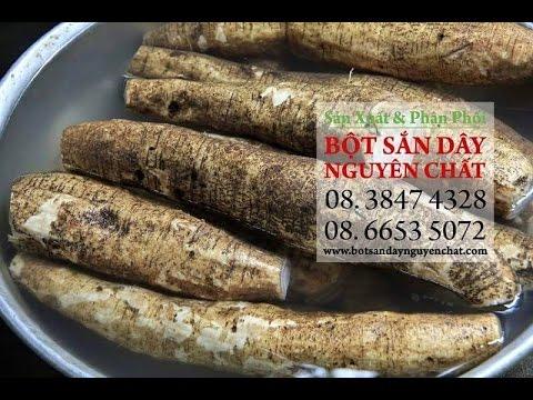 bot san day nguyen chat - chuyên sản xuất và phân phối bột sắn dây nguyên chất.