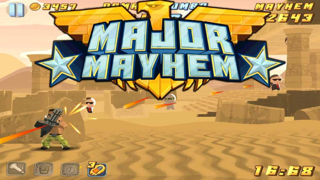 Image result for Major Mayhem ios app game screenshot