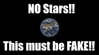 "Flat Earth: The ""No Stars"" claim"
