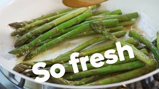 Three quick & easy ways to cook asparagus