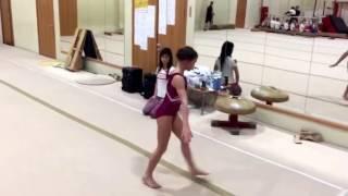 Спортивная гимнастика вольные 1 юн. разряд   Сайко Виолетта