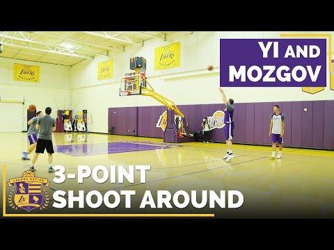 Can Yi Jianlian & Timofey Mozgov Shoot From Three-Point Range?