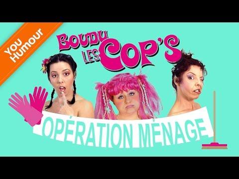 BOUDU LES COPS - Opération ménage