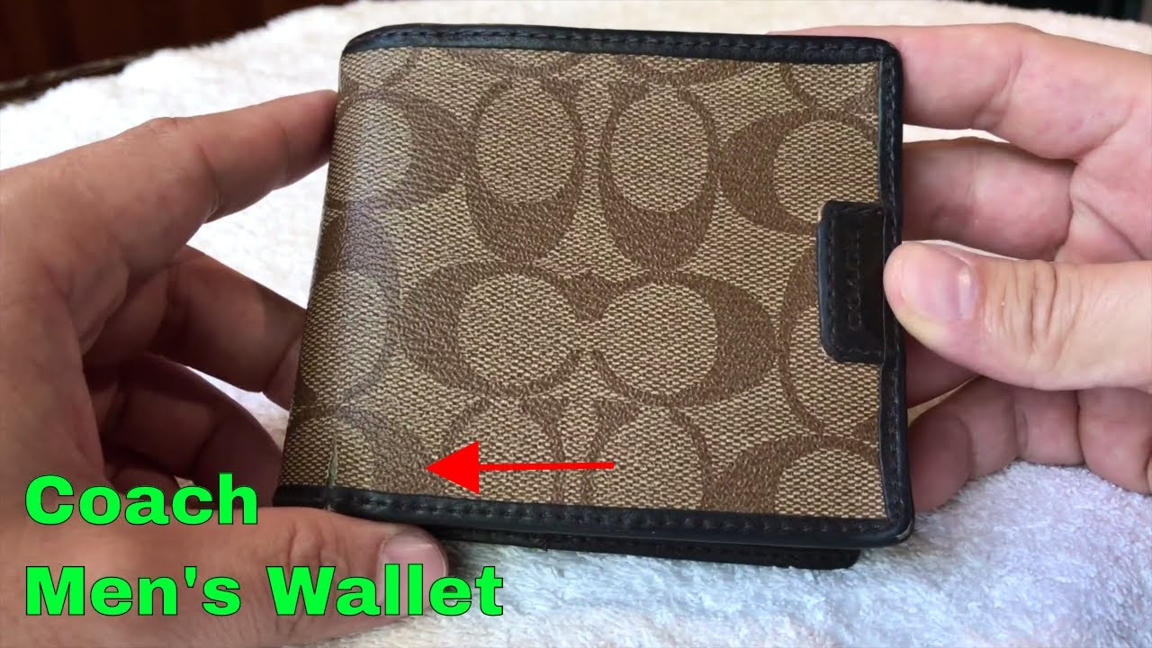 6a8c06dc22 ✅ How To Use Coach Men's Wallet Review