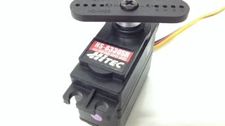 Hitec HS-8330SH Servo - Unboxed and Tested!!