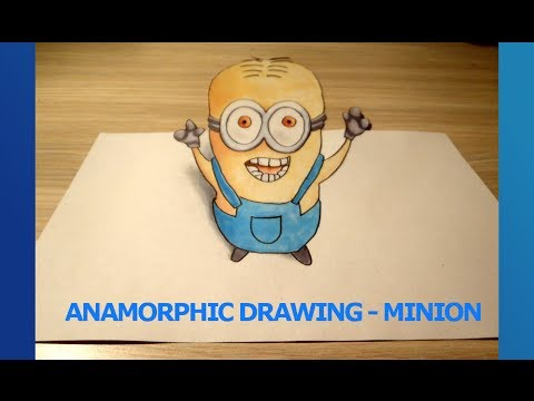 how to draw a minion step by step for beginners