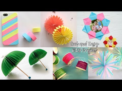 6 Cool And Fast DIY Projects | Craft Ideas | Useful Things