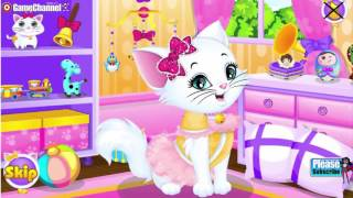 KITTY SPA MAKE OVER Y8 Pet Care Cat Care Flash Online Free Games GAMEPLAY VİDEO