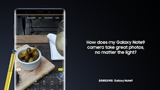 Galaxy Note9: How to Use Dual Aperture