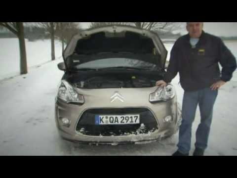 Citroen C3 Im Test Autotest 2010 Adac Youtube