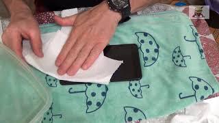 """Полная инструкция по поклейке пленки из магазина """" В Броне"""" на Xiaomi Mi Max 2 """"мокрым"""" способом"""