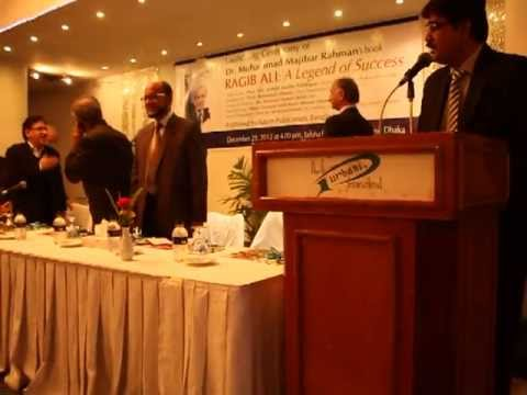 book launching; Ragib Ali: A legend of success
