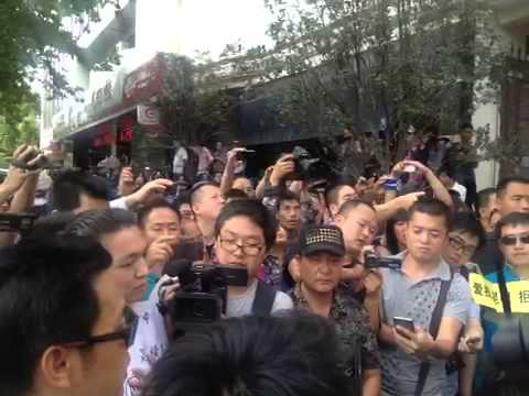Kunming protest, May 16, 2013